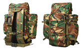 Backpack British woodland