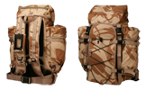Backpack desert camouflage